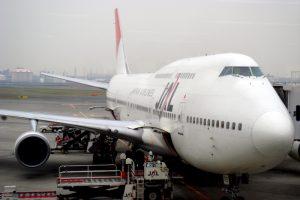 JAL1923 羽田 - 那覇 JA8905 Boeing747-446D 26349/948 1992/12〜2010/07