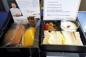 全日空 ANA996 沖縄 - 羽田 プレミアムクラス 機内食