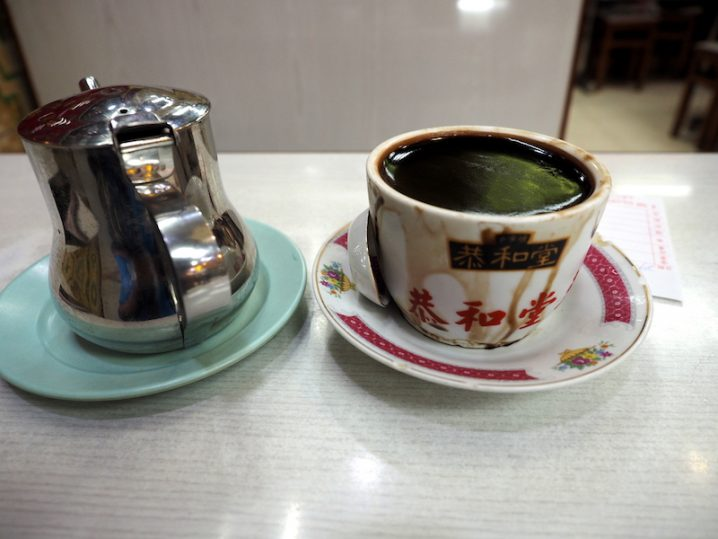 香港 旺角 恭和堂 亀ゼリー