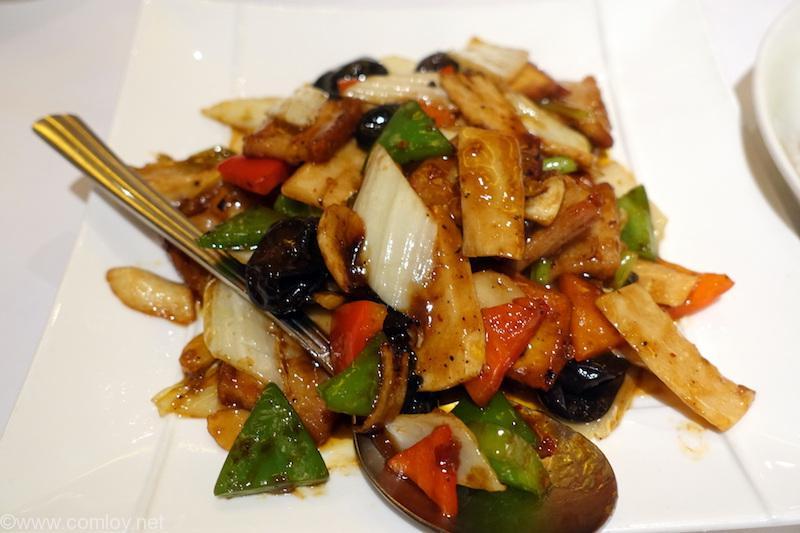 野菜のXO醬炒め