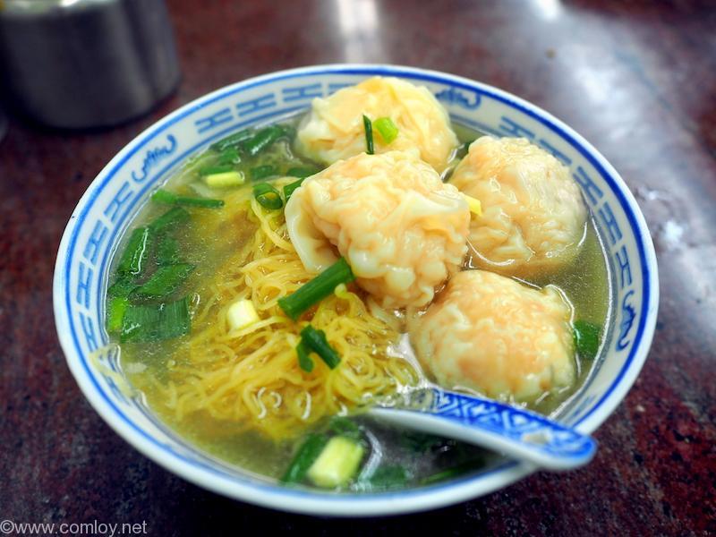 錫記招牌雲呑 ワンタン麺