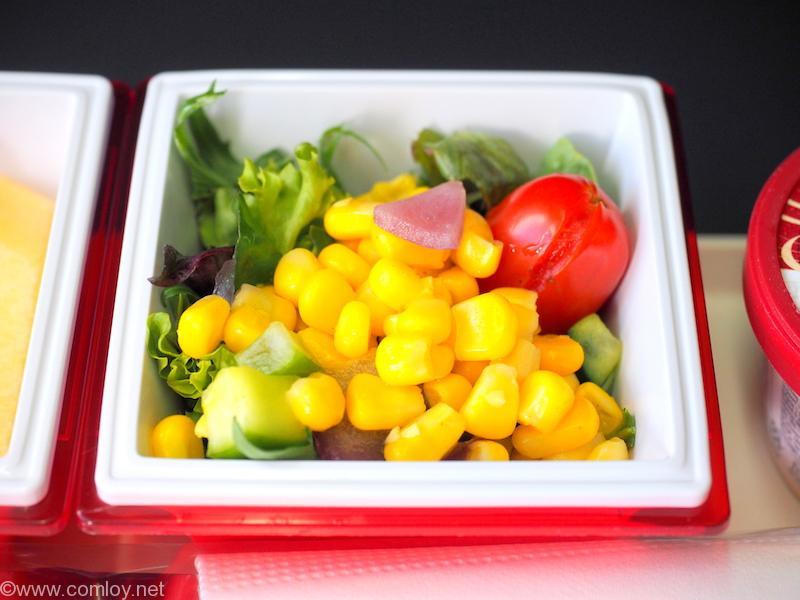 日本航空 JL26 香港 - 羽田 プレミアムエコノミークラス機内食
